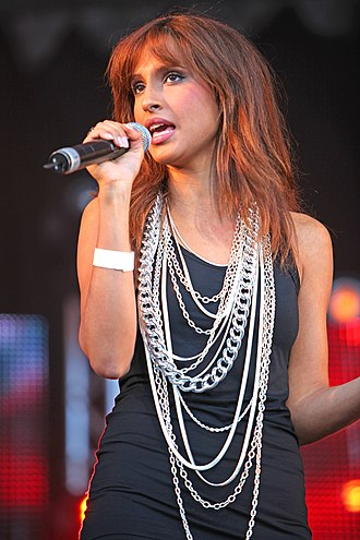 Snoh Aalegra - Aalegra at Stockholm Pride in 2009