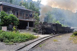 Jiayang Coal Railway - Image: Shibanxi 07 01