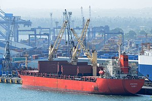 Ship African Orchid in port, 2012.JPG