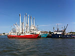 Ships at Sea (7259339652).jpg