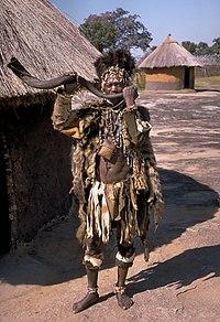 Shona witch doctor (Zimbabwe)