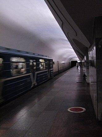 Shosse Entuziastov (Moscow Metro) - Platform of Shosse Entuziastov