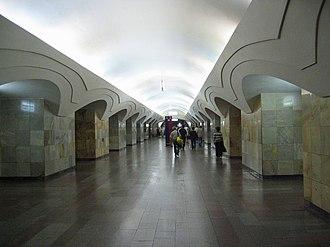 Shosse Entuziastov (Moscow Metro) - Image: Shosseentuz mm