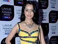 Shraddha Kapoor graces Nishka Lulla's show at Lakme Fashion Week 2011 Day 1 (5).jpg
