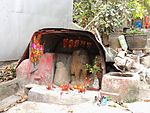 Shrine with Stone Dog, Tai O.JPG