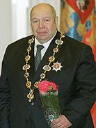 Shumakov with Order of Saint Apostol Andrew