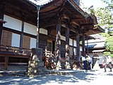 Shuzenji(temple), Hondo, 20110919 b.jpg