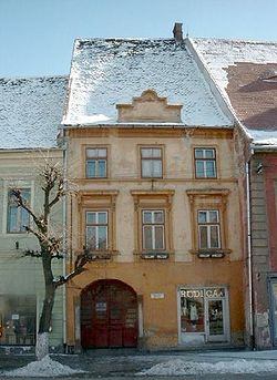 Historic house in Sibiu