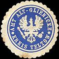 Siegelmarke Amt Alt - Glienicke - Kreis Teltow W0214271.jpg