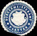 Siegelmarke Bürgermeisteramt Platten W0317696.jpg