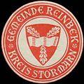 Siegelmarke Gemeinde Reinbek W0327965.jpg