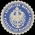 Siegelmarke K. Marine Flugstation Warnemünde W0357329.jpg