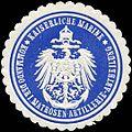 Siegelmarke Kaiserliche Marine - Kommando der Matrosen - Artillerie - Abtheilung W0224074.jpg