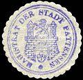 Siegelmarke Magistrat der Stadt Pattensen W0229325.jpg