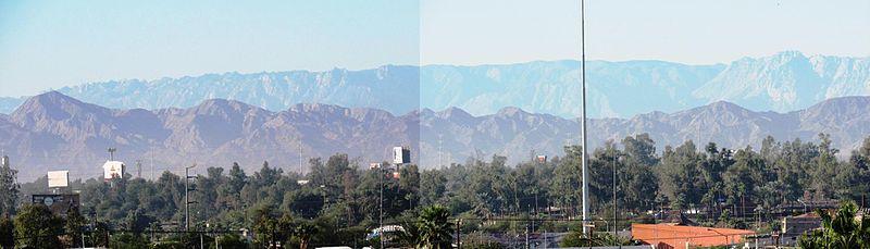 Clima mexicali
