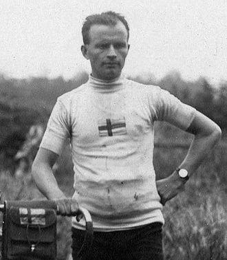 Sigfrid Lundberg - Lundberg at the 1920 Summer Olympics