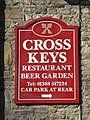 Sign for the Cross Keys - geograph.org.uk - 728444.jpg