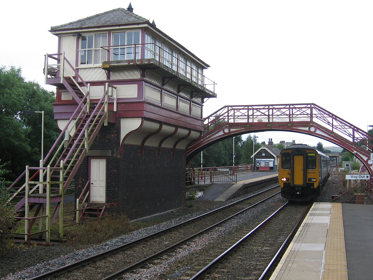 Haltwhistle railway station - Wikipedia