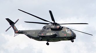 Helicopter Wing 64 - CH-53G from Helicopter Wing 64 still with German Army Aviation Corps markings