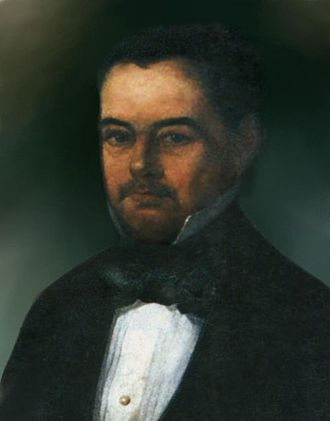 Castro Alves - A painting depicting Castro Alves' grandfather, José Antônio da Silva Castro (1792–1844), who fought in the 1821–23 Siege of Salvador