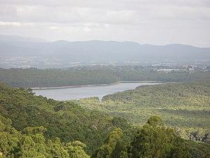 Silvan, Victoria - Silvan Reservoir from Kalorama