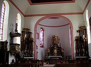 Simmern St Joseph interior