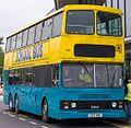 Simmonds bus (C157 HBA) 1986 Hong Kong tri-axle (KMB 3BL64, DH 5054), 2012 Slough & Windsor running day (3).jpg