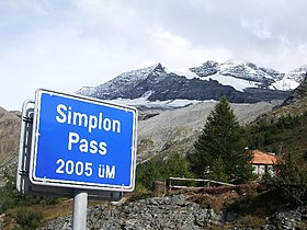Simplon Pass Wikipedia