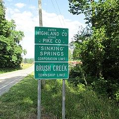 Sinking springs ohio