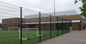 Sir Frederic Osborn School - Image: Sir Frederic Osborn School Sportshall