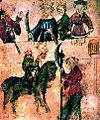 Sir Gawain and the Green Knight, from Pearl Manuscript.jpg
