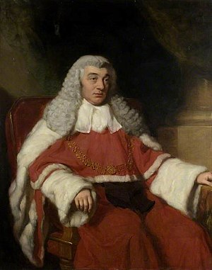 Chief Justice of the Common Pleas - Image: Sir Nicholas Conyngham Tindal by John Lucas