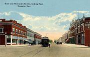 Sixth Avenue and Merchant Street, Emporia, KS