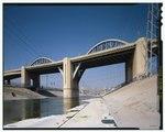 Мост Шестой улицы, Spanning 101 Freeway на Шестой улице, Лос-Анджелес, округ Лос-Анджелес, CA HAER CAL, 19-LOSAN, 77-67 (CT) .tif.