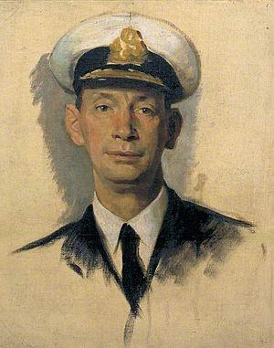 Norway Debate - Sketch of Keyes by Glyn Warren Philpot, 1918. Imperial War Museum