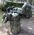 Skulptur Behmstr 40 (Weddi) Fußballspieler Michael Schoenholtz 1978 5.jpg
