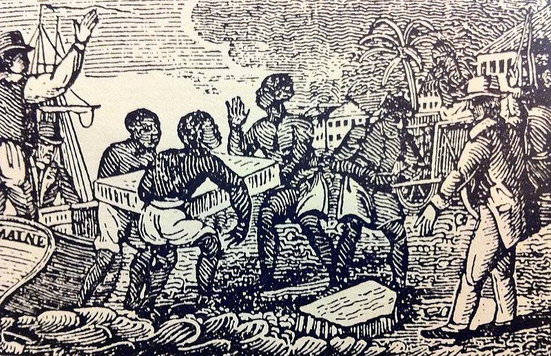 Slaves Unloading Ice in Cuba 1832.jpg