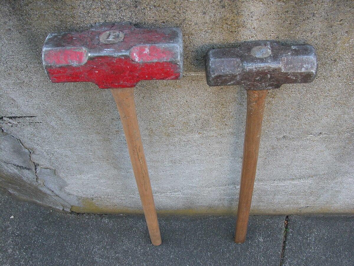 Roughneck Sledgehammer- 4- Lb | eBay