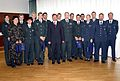 Slovenian sportsmen in military in 2006.jpg