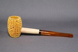 Smoking pipe corn cobl