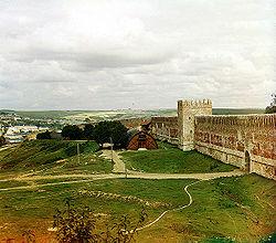 A wall of Smolensk Kremlin in 1912.