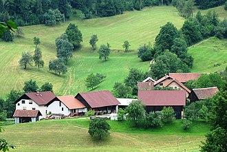 Smrečje, Vrhnika - Image: Smrečje Slovenia Kajndol