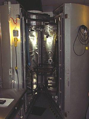 Calorimetry - Image: Snellen human calorimeter, u Ottawa