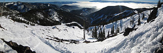 Montana Snowbowl - Image: Snowbowl's Bowl