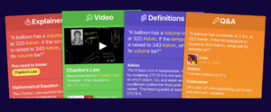 Socratic.org - Types of learning resources from the Socratic app
