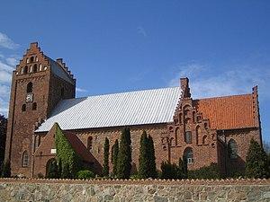 Søborg, Gribskov Municipality - Image: Soeborg Kirke