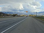 Southeast at the US-40 US-189 & SR-32 junction, Apr 16.jpg