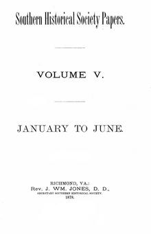 Southern Historical Society Papers volume 05.pdf