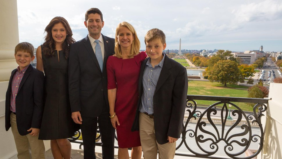Speaker Ryan and Family