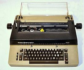 Sperry-Remington typewriter model SR101